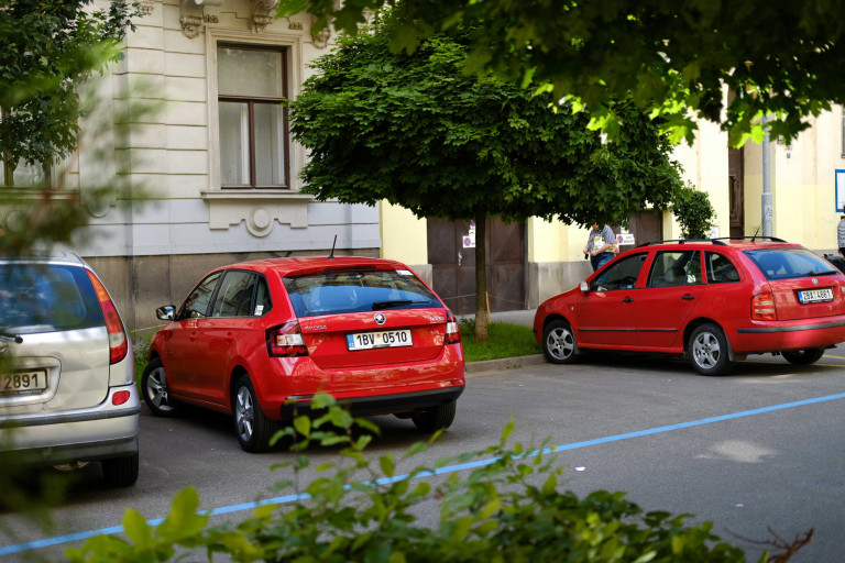 Parkovani Brno