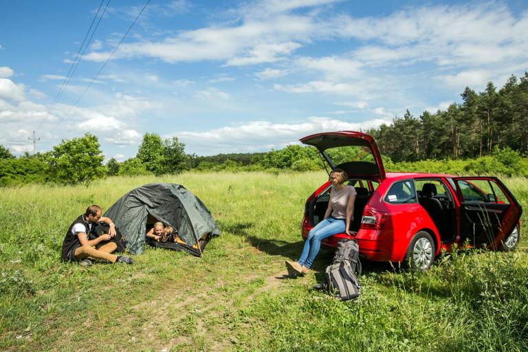Carsharing na výlety